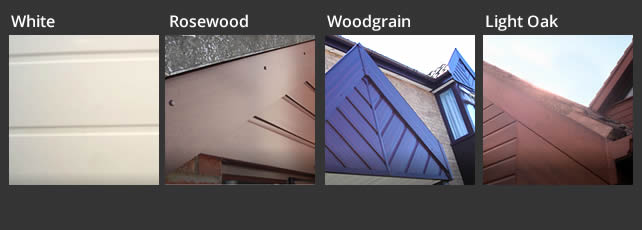 Replacement uPVC Shiplap Cladding Colour Options
