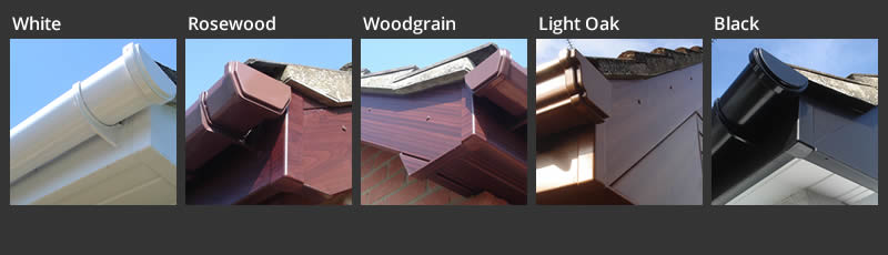 Fascia Boards Replacement Colour Options