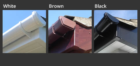 Guttering Replacement Colour Options