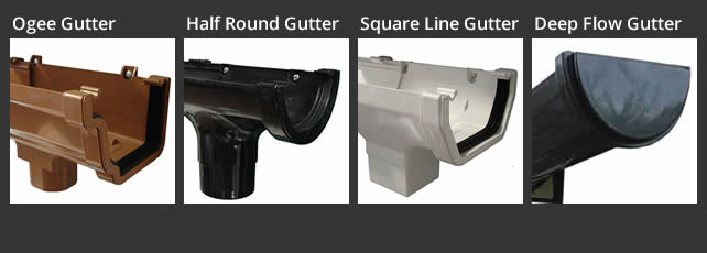 Guttering Replacement Style Options