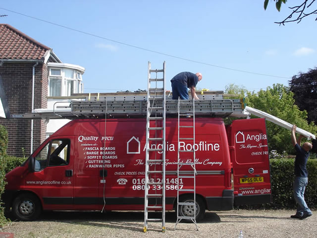 Step 5 | Final checks completed - site is left clean and tidy during roofline installation