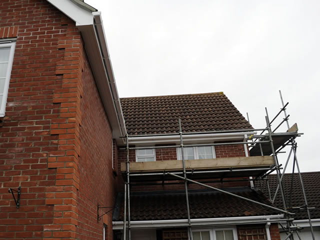 Case Study 2 | Specialist equipment from Anglia Roofline solves the problem