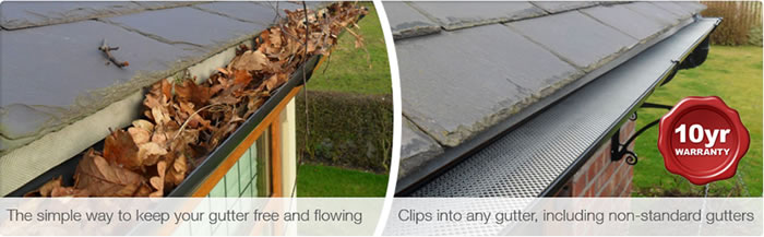 Gutterguard available through Anglia Roofline