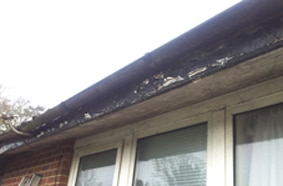 flaking paint sure sign roofline repairs needed