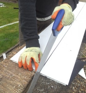 cutting soffits