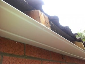 securely fixed soffits
