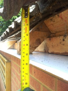 Installing fascias - measuring the fascia height needed