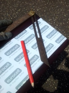 bargeboard preparation