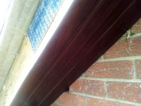bargeboard and soffit fitted