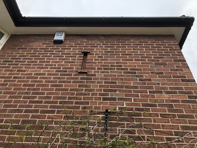 Black Replacement guttering