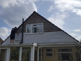 UPVC cladding replacement